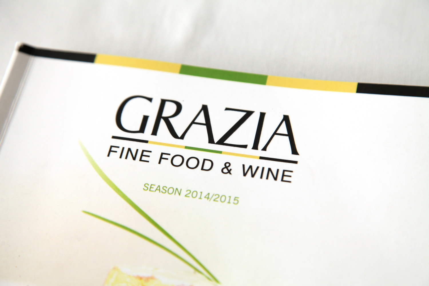 fine food and wine, Grazia, food photography
